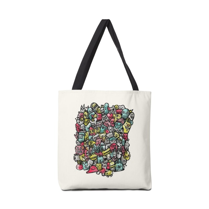 Staying Outside the lines  Accessories Bag by wotto's Artist Shop