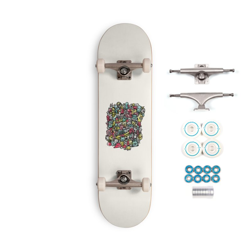Staying Outside the lines  Accessories Complete - Basic Skateboard by wotto's Artist Shop