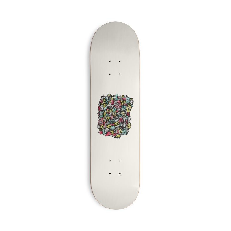 Staying Outside the lines  Accessories Deck Only Skateboard by wotto's Artist Shop