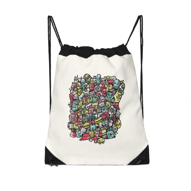 Staying Outside the lines  Accessories Drawstring Bag Bag by wotto's Artist Shop
