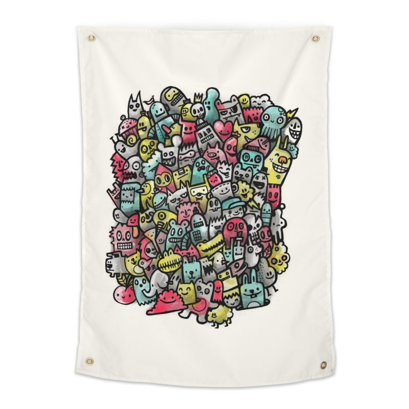 Staying Outside the lines  Home Tapestry by wotto's Artist Shop