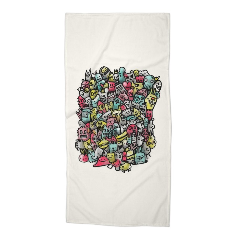 Staying Outside the lines  Accessories Beach Towel by wotto's Artist Shop