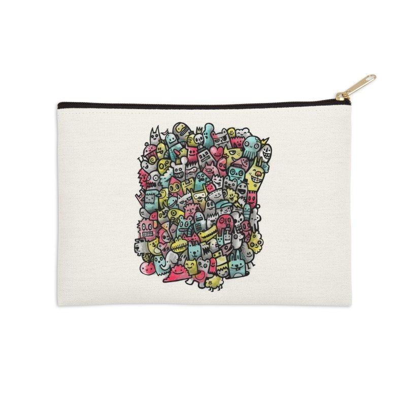 Staying Outside the lines  Accessories Zip Pouch by wotto's Artist Shop