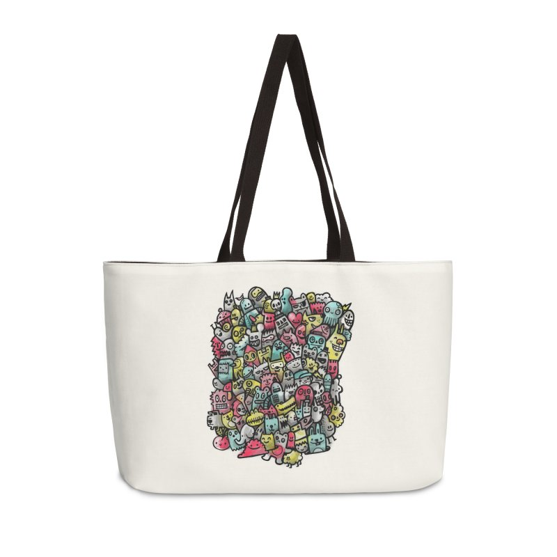 Staying Outside the lines  Accessories Weekender Bag Bag by wotto's Artist Shop