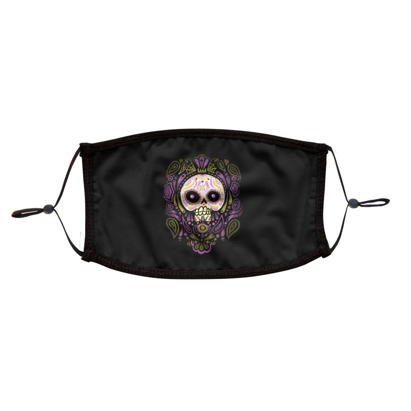 Day of the Calavera Accessories Face Mask by wotto's Artist Shop