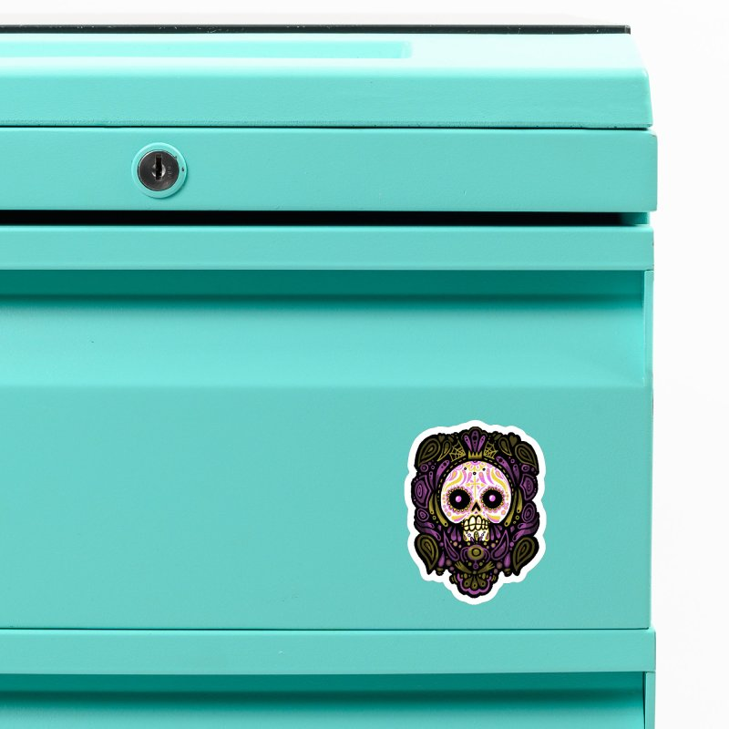 Day of the Calavera Accessories Magnet by wotto's Artist Shop