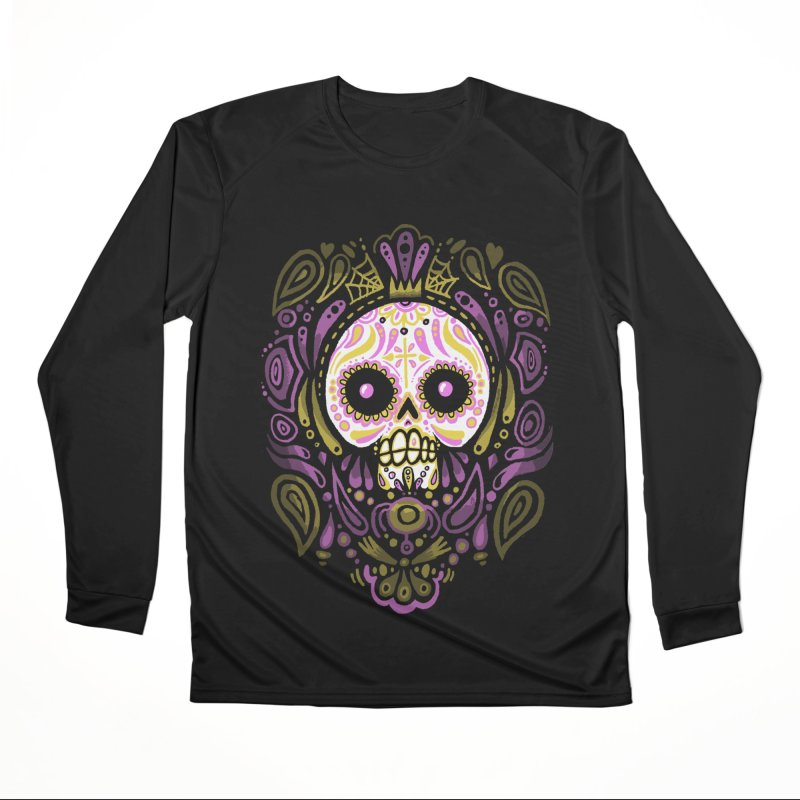 Day of the Calavera Men's Longsleeve T-Shirt by wotto's Artist Shop