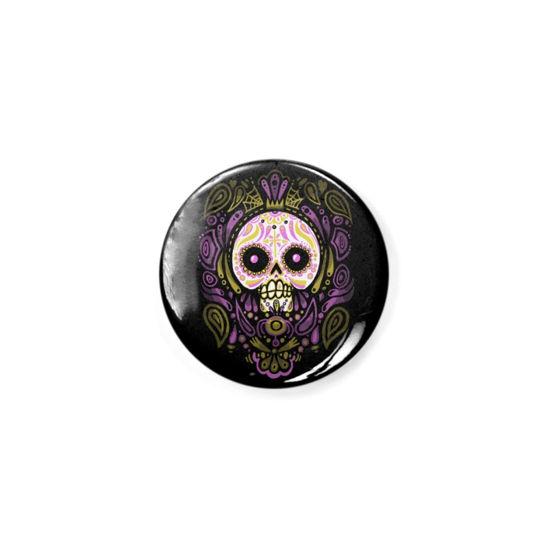 Day of the Calavera Accessories Button by wotto's Artist Shop