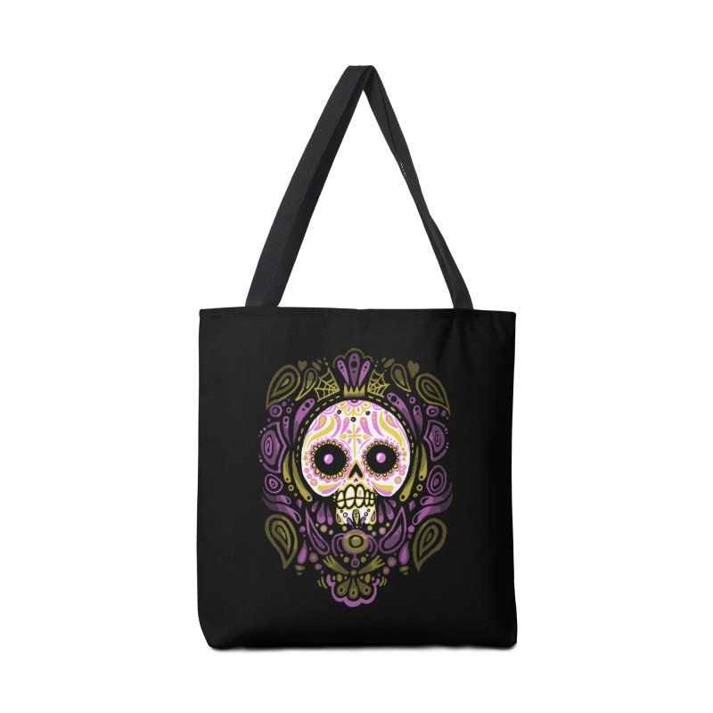 Day of the Calavera Accessories Bag by wotto's Artist Shop