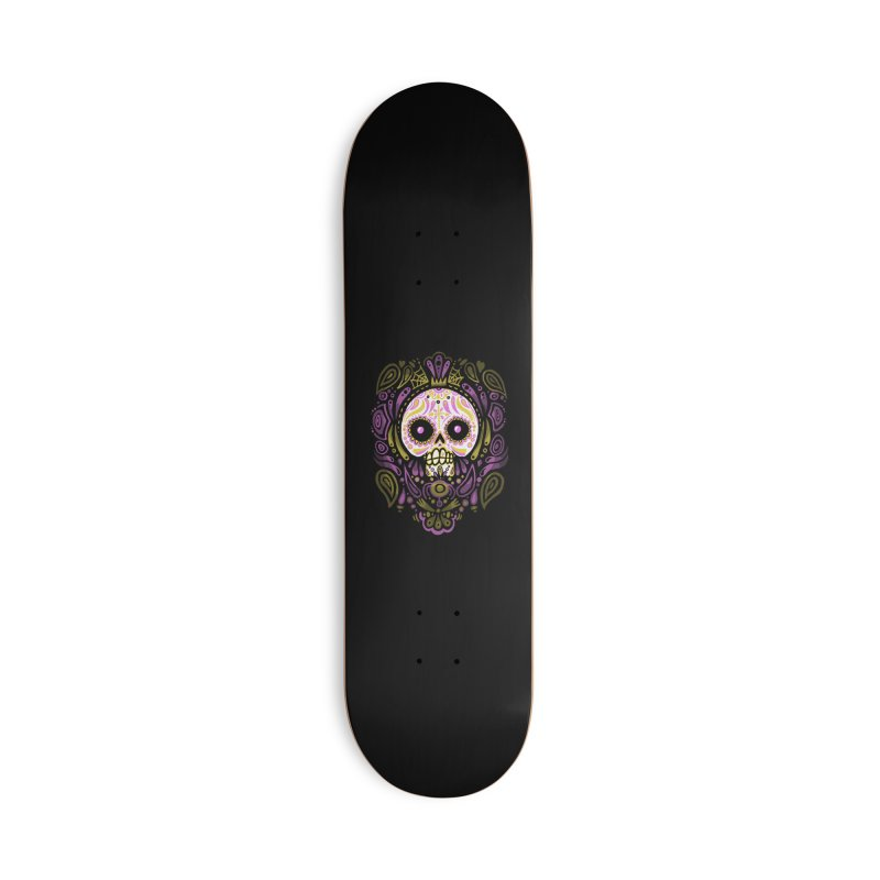 Day of the Calavera Accessories Skateboard by wotto's Artist Shop