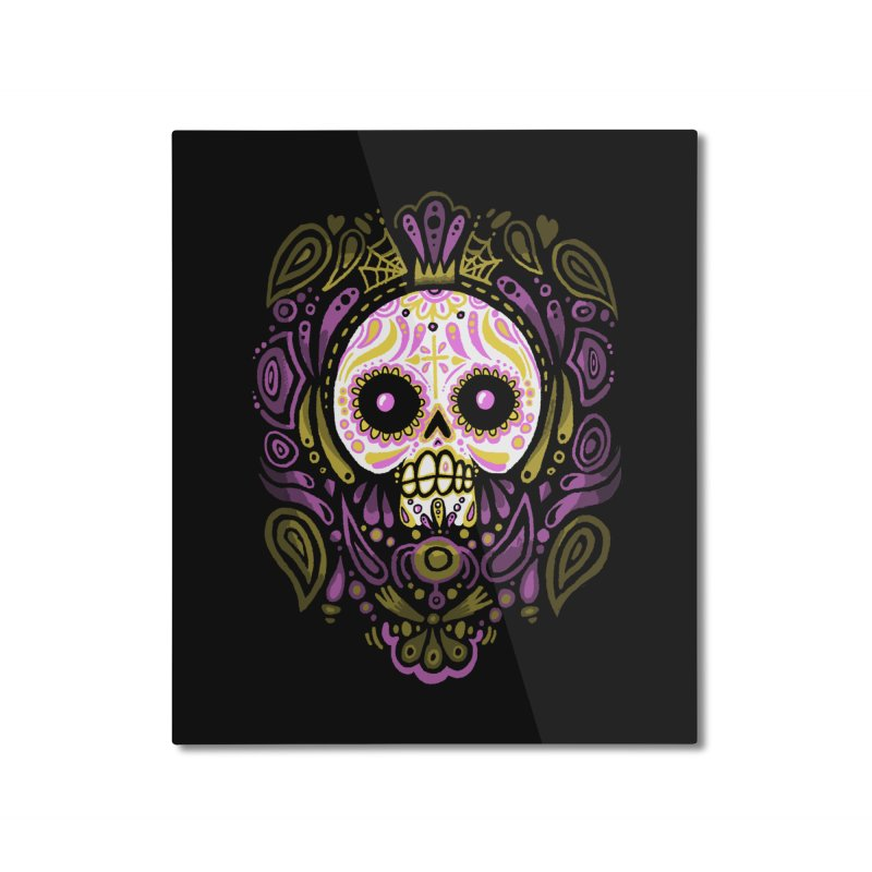 Day of the Calavera Home Mounted Aluminum Print by wotto's Artist Shop