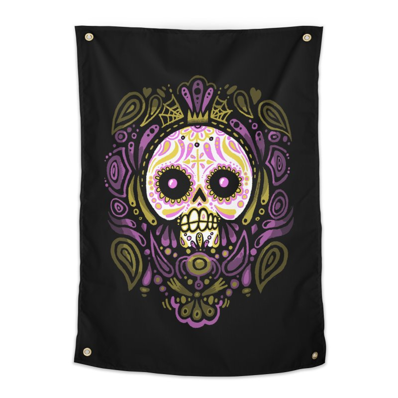 Day of the Calavera Home Tapestry by wotto's Artist Shop