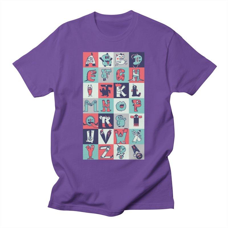 Alphabeasts Men's T-Shirt by wotto's Artist Shop