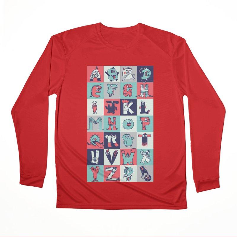 Alphabeasts Men's Longsleeve T-Shirt by wotto's Artist Shop