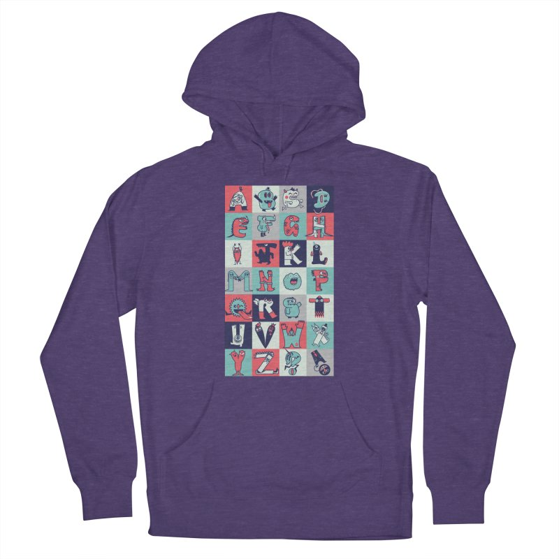 Alphabeasts Men's Pullover Hoody by wotto's Artist Shop