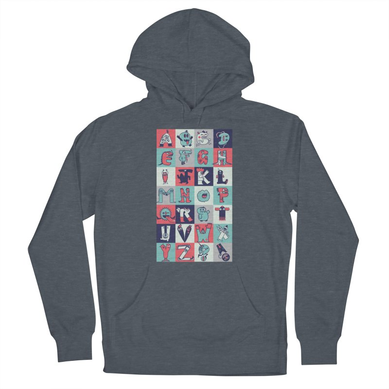Alphabeasts Women's Pullover Hoody by wotto's Artist Shop
