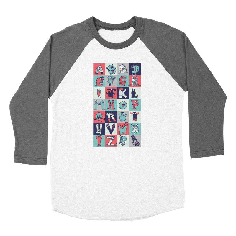 Alphabeasts Women's Longsleeve T-Shirt by wotto's Artist Shop