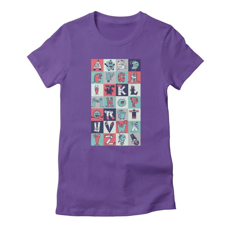 Alphabeasts Women's T-Shirt by wotto's Artist Shop