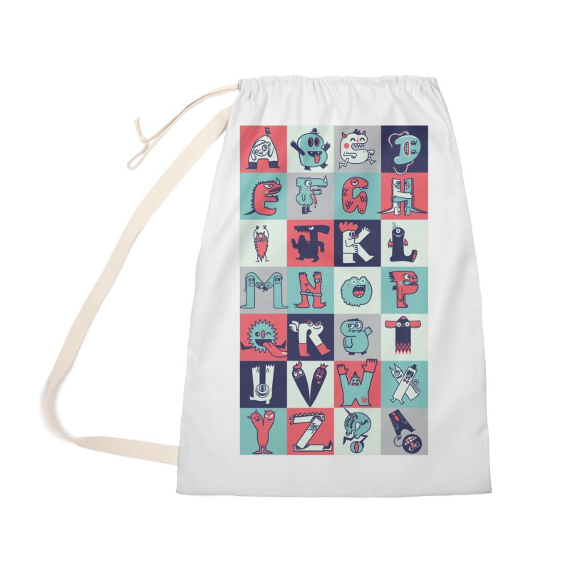 Alphabeasts Accessories Bag by wotto's Artist Shop