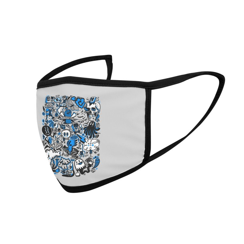 Strange & Unusual Accessories Face Mask by wotto's Artist Shop