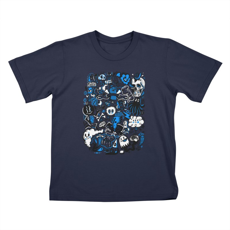 Strange & Unusual Kids T-Shirt by wotto's Artist Shop