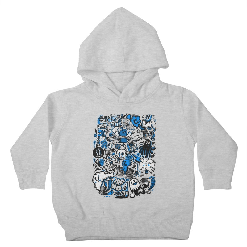 Strange & Unusual Kids Toddler Pullover Hoody by wotto's Artist Shop