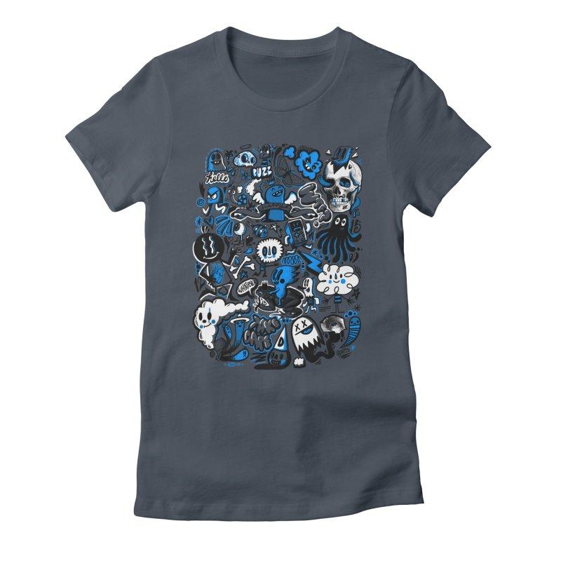 Strange & Unusual Women's T-Shirt by wotto's Artist Shop