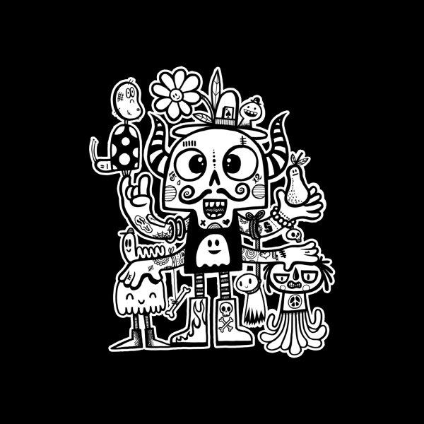 image for Crossed Eyed Killer Skull Face