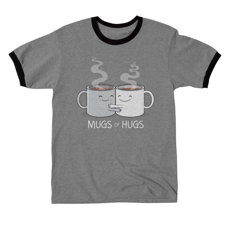 Mugs of Hugs Men's T-Shirt by wotto's Artist Shop