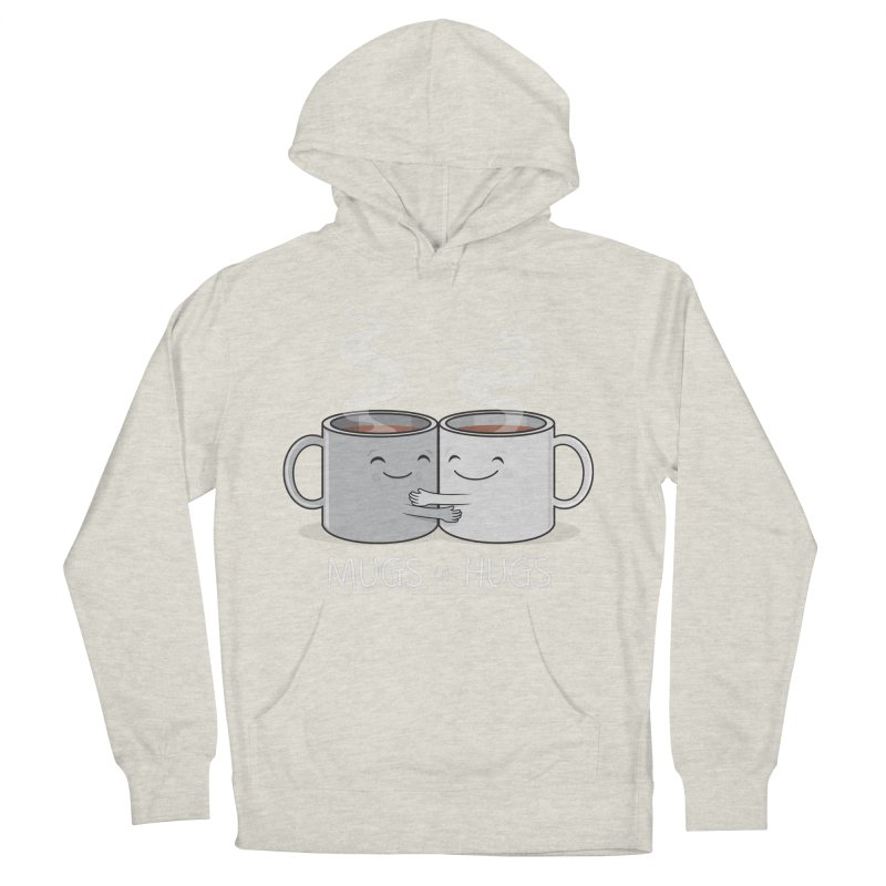 Mugs of Hugs Men's French Terry Pullover Hoody by wotto's Artist Shop