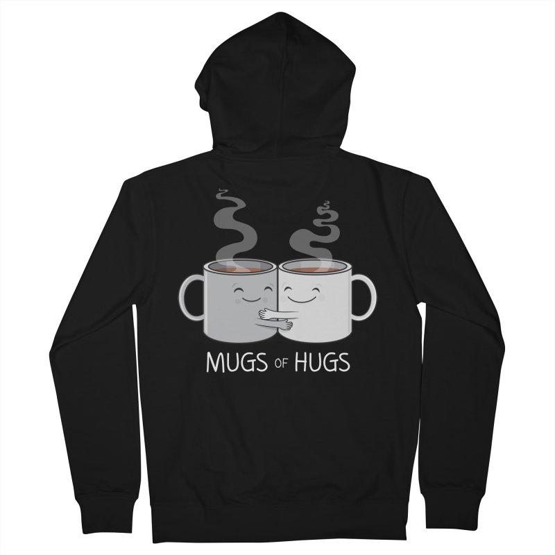 Mugs of Hugs Women's Zip-Up Hoody by wotto's Artist Shop