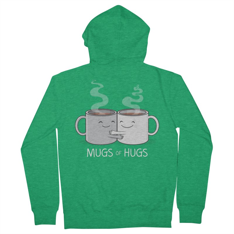 Mugs of Hugs Men's Zip-Up Hoody by wotto's Artist Shop