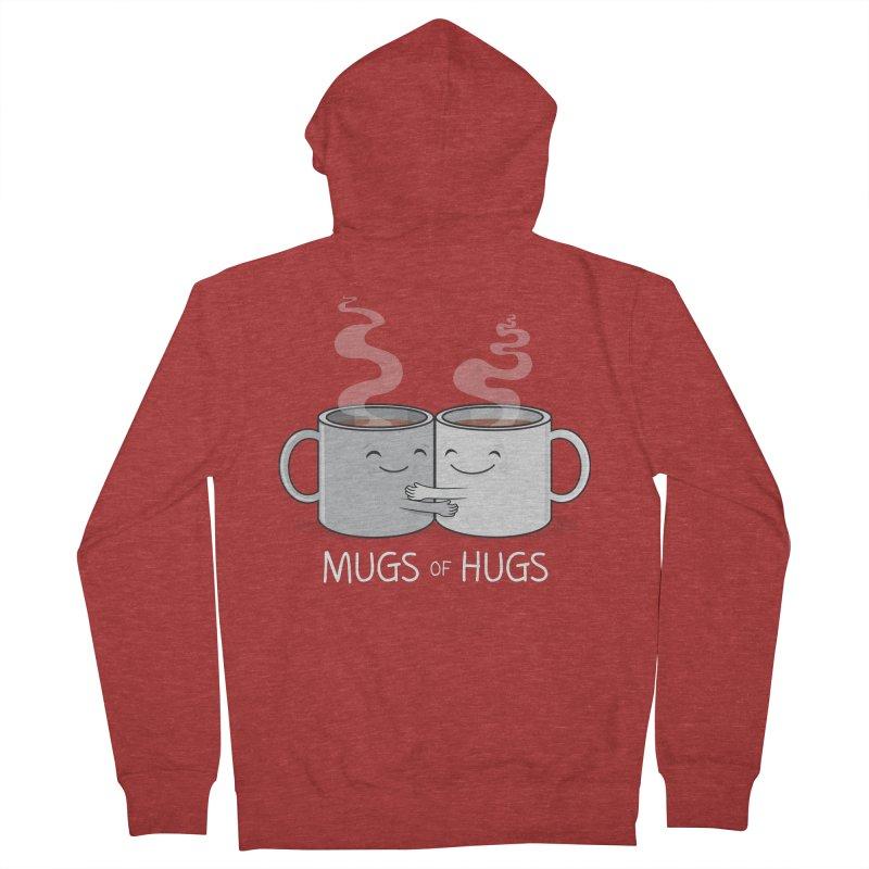 Mugs of Hugs Men's Zip-Up Hoody by wotto's Artist Shop