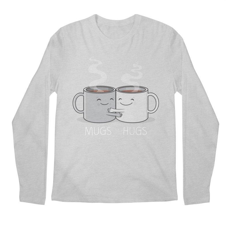 Mugs of Hugs Men's Regular Longsleeve T-Shirt by wotto's Artist Shop