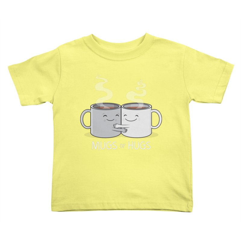 Mugs of Hugs Kids Toddler T-Shirt by wotto's Artist Shop