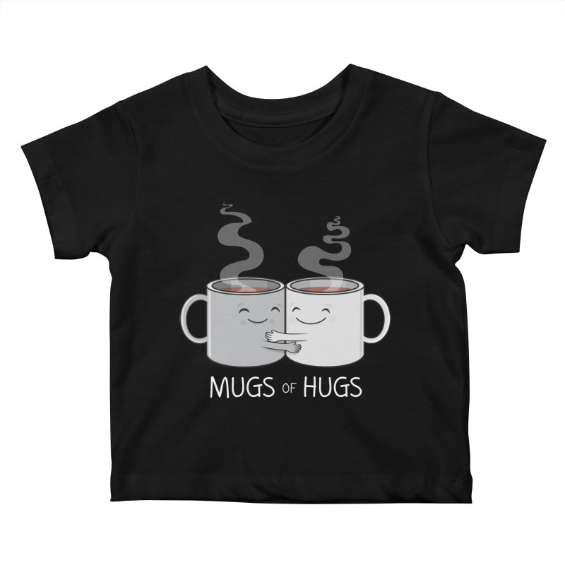 Mugs of Hugs Kids Baby T-Shirt by wotto's Artist Shop