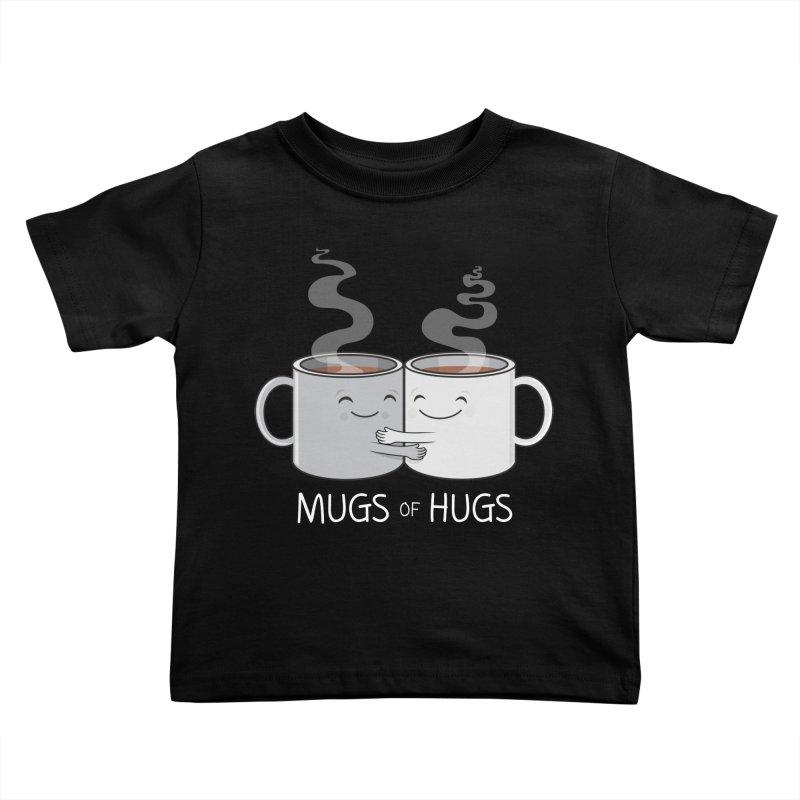 Mugs of Hugs Kids Toddler T-Shirt by wotto's Artist Shop