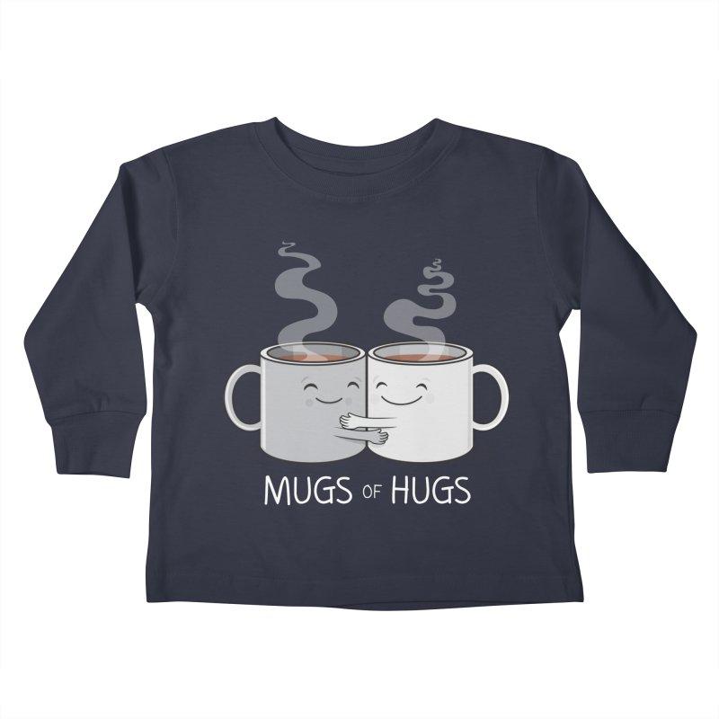Mugs of Hugs Kids Toddler Longsleeve T-Shirt by wotto's Artist Shop