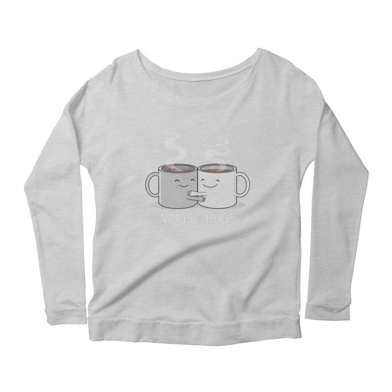 Mugs of Hugs Women's Scoop Neck Longsleeve T-Shirt by wotto's Artist Shop
