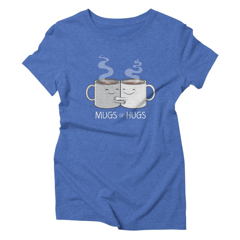 Mugs of Hugs Women's Triblend T-shirt by wotto's Artist Shop