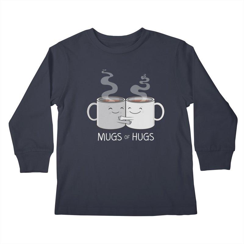 Mugs of Hugs Kids Longsleeve T-Shirt by wotto's Artist Shop