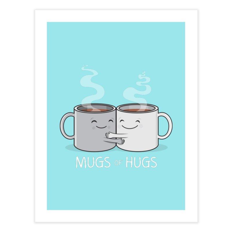 Mugs of Hugs Home Fine Art Print by wotto's Artist Shop