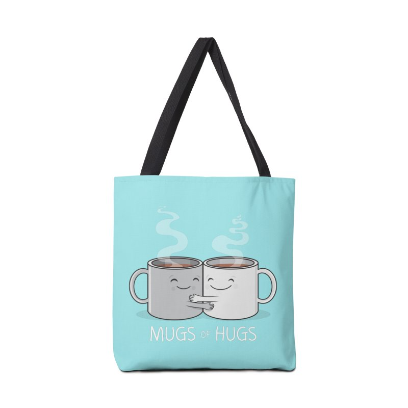 Mugs of Hugs Accessories Tote Bag Bag by wotto's Artist Shop