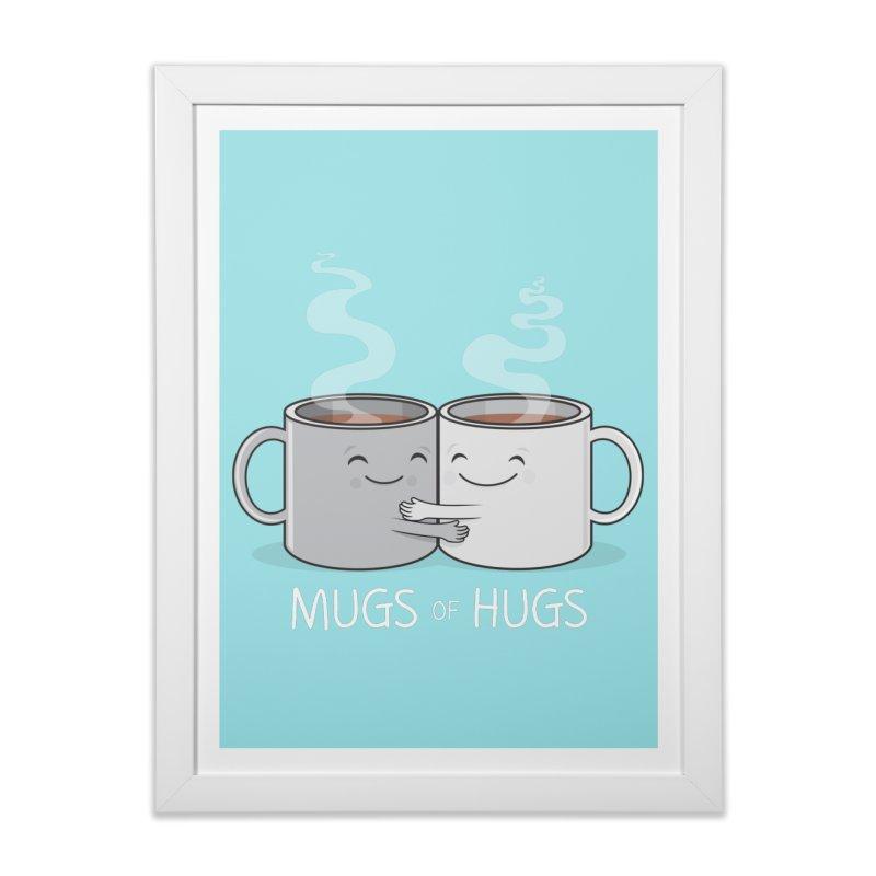 Mugs of Hugs Home Framed Fine Art Print by wotto's Artist Shop