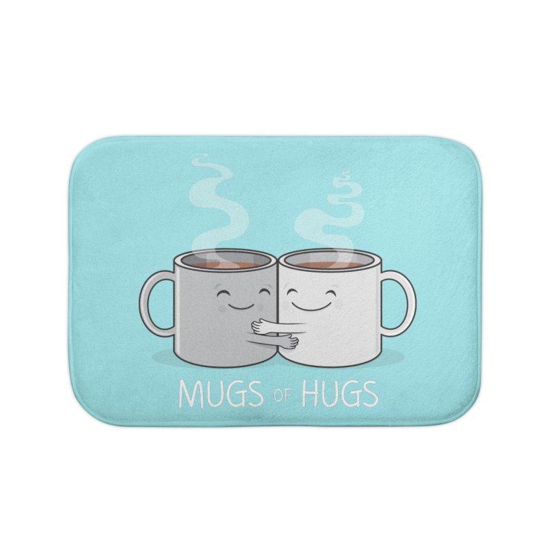 Mugs of Hugs Home Bath Mat by wotto's Artist Shop