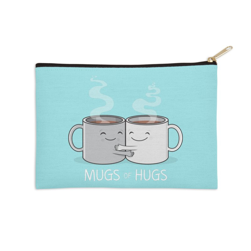 Mugs of Hugs Accessories Zip Pouch by wotto's Artist Shop