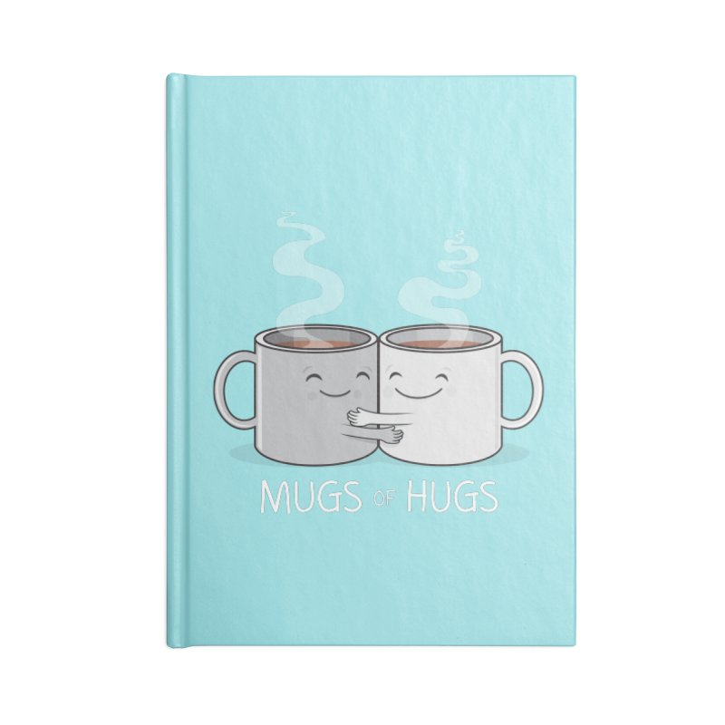 Mugs of Hugs Accessories Lined Journal Notebook by wotto's Artist Shop