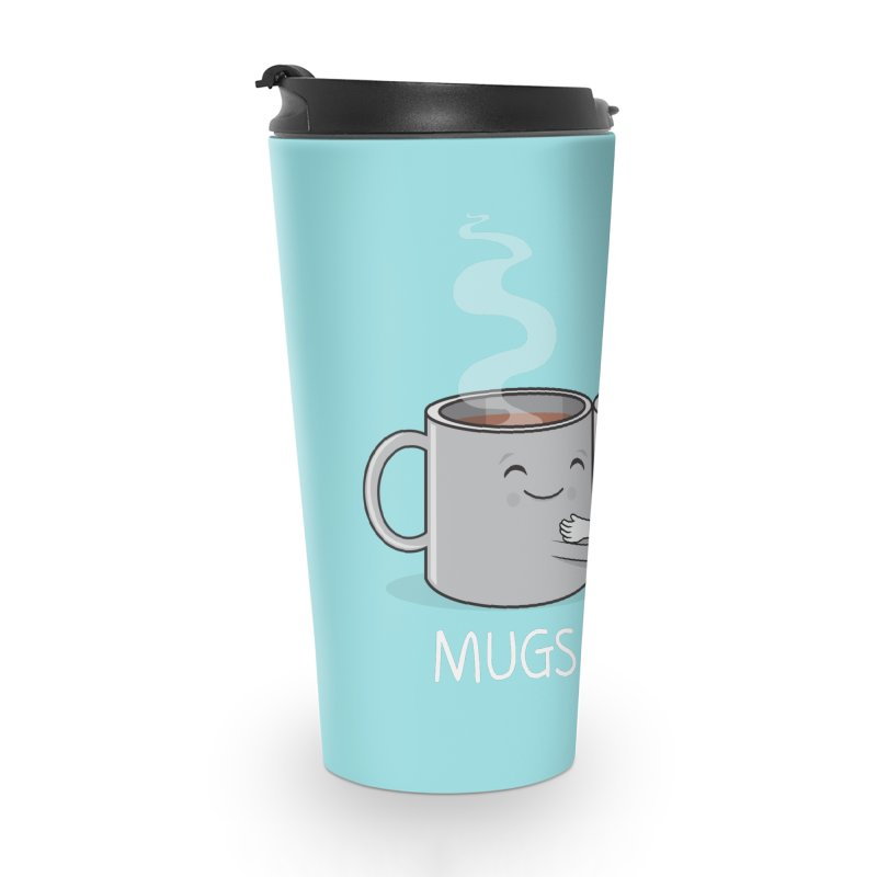 Mugs of Hugs Accessories Travel Mug by wotto's Artist Shop