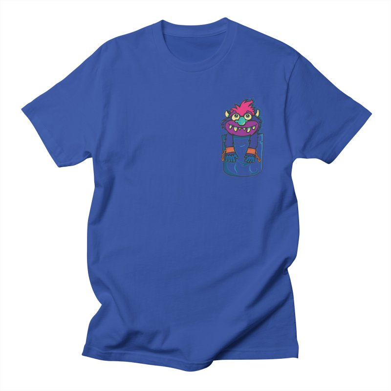 Monster In My Pocket Men's T-shirt by wotto's Artist Shop