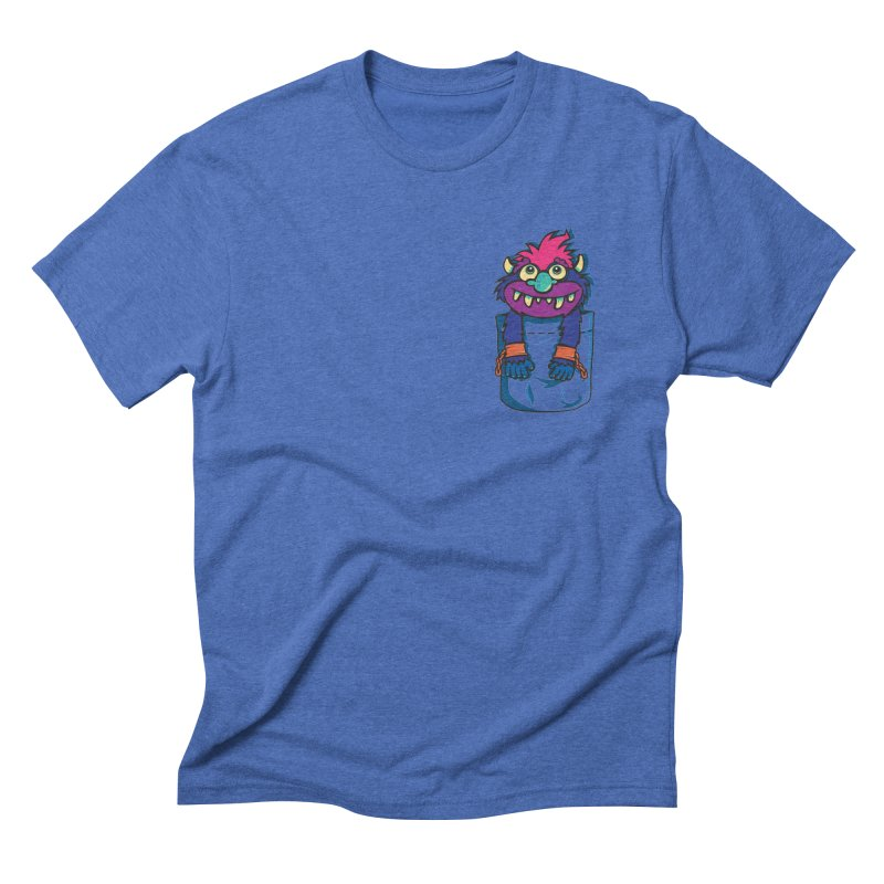 Monster In My Pocket Men's Triblend T-shirt by wotto's Artist Shop